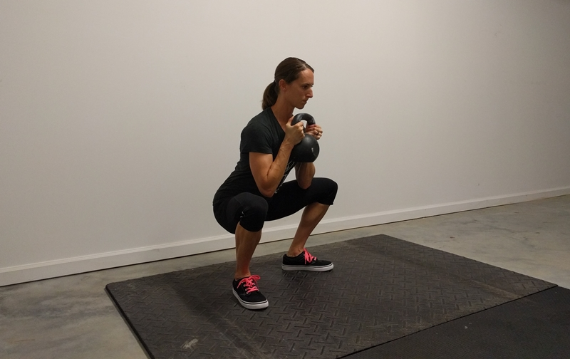 how to make goblet squats harder