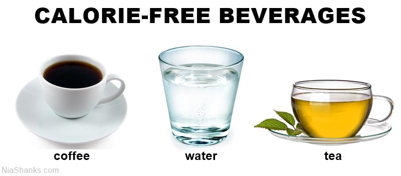 calorie-free beverages